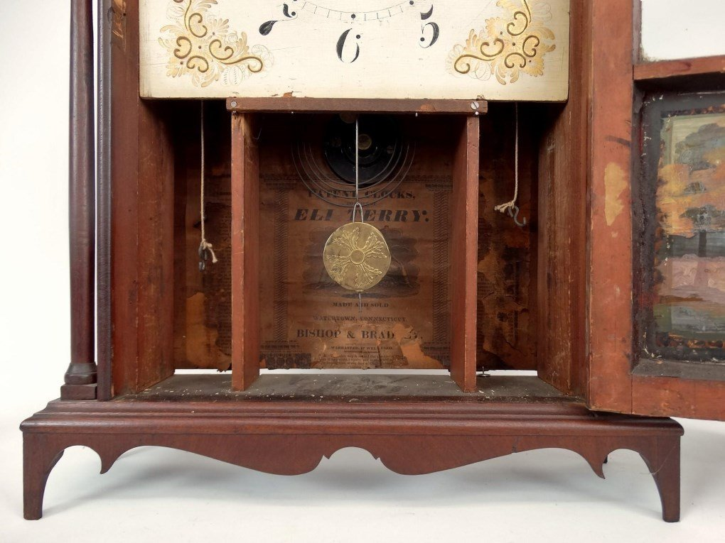 19th c. Eli Terry Shelf Clock - 7
