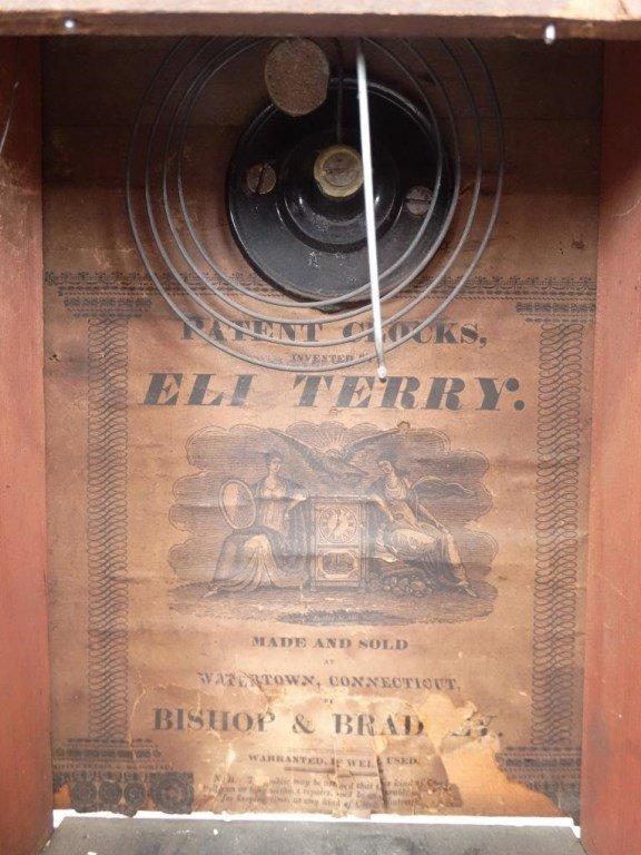19th c. Eli Terry Shelf Clock - 8