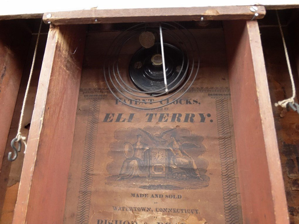19th c. Eli Terry Shelf Clock - 9