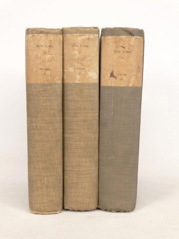 """Books: """"New York At Gettysburg"""" - 10"""