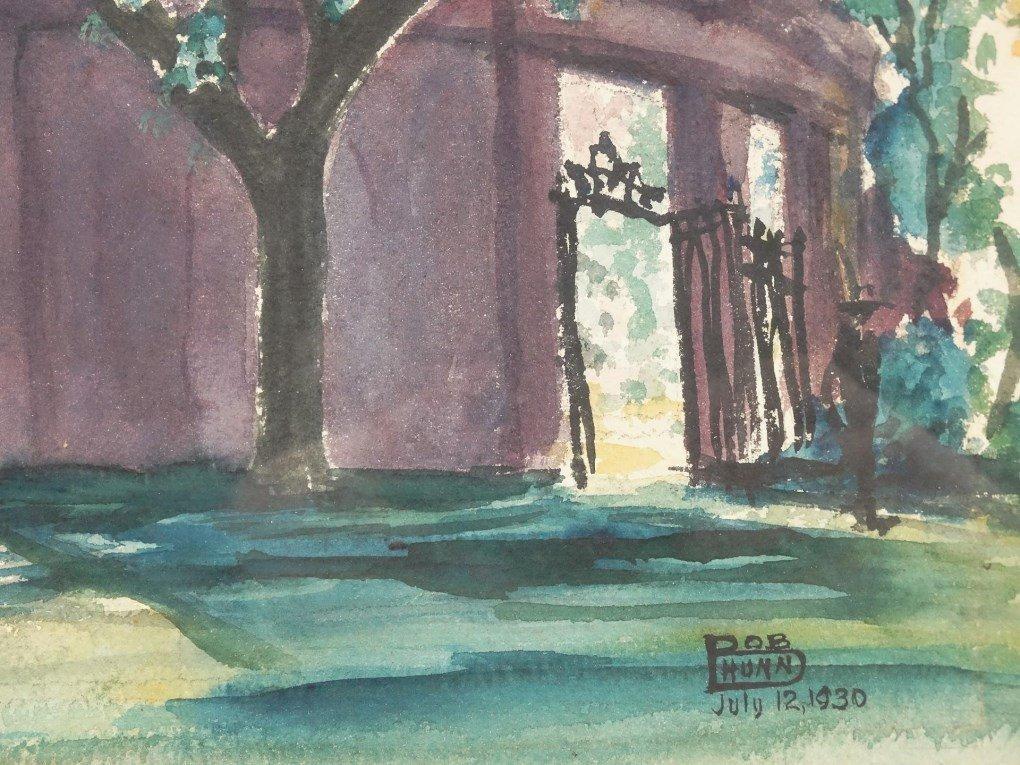Bob Hunn, Harvard Yard - 3