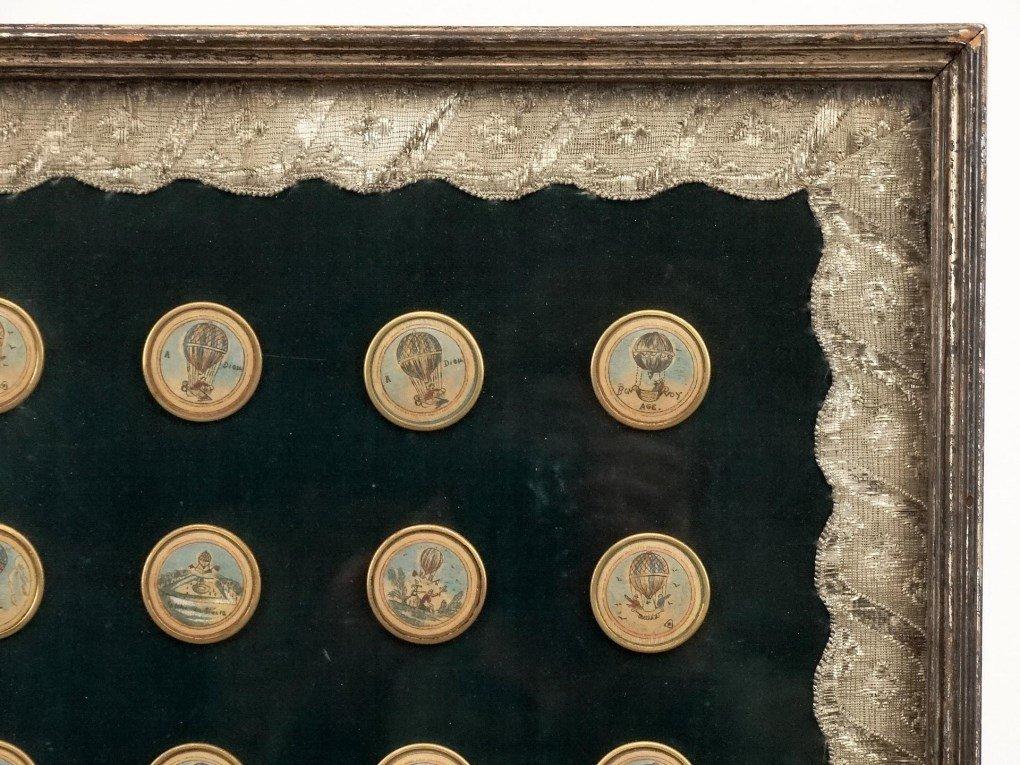 Ballooning History Framed Medallions - 2