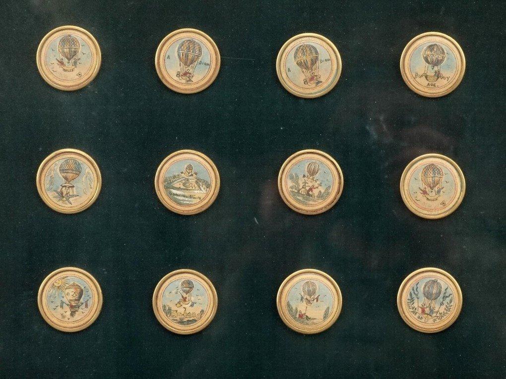 Ballooning History Framed Medallions - 3