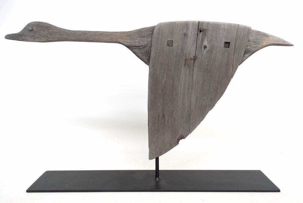 Wooden Goose Weathervane - 2