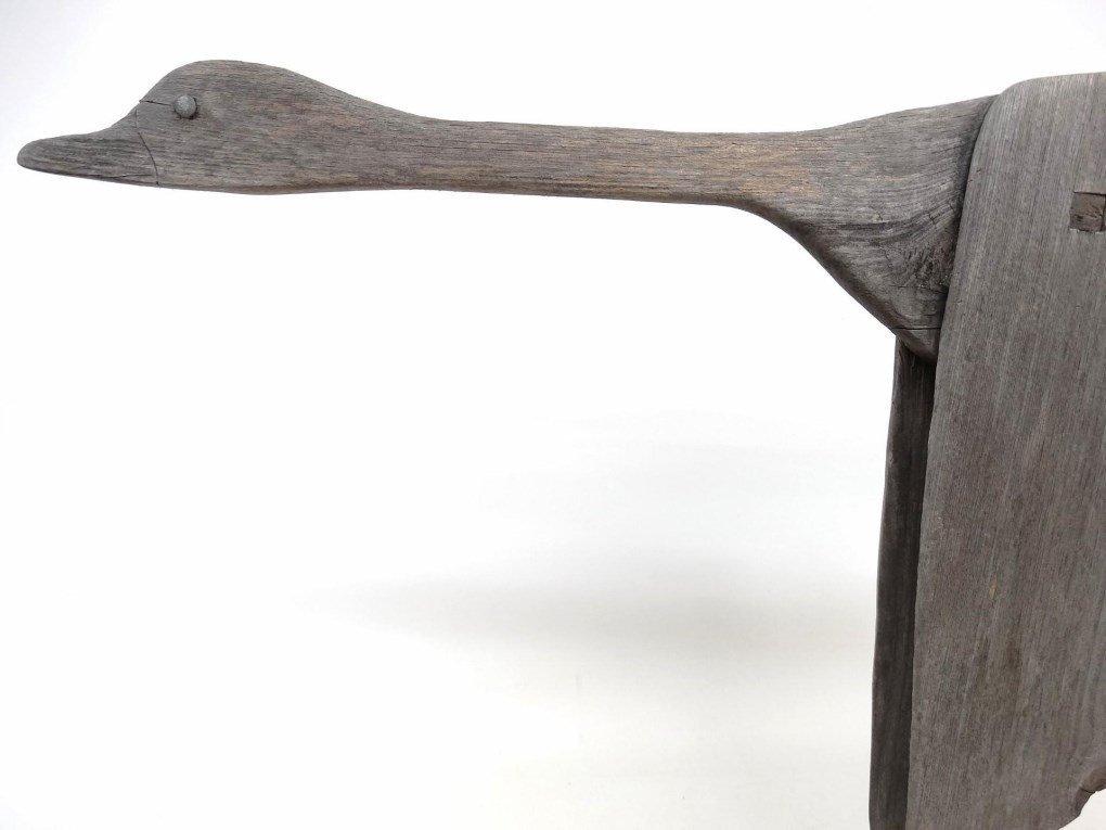 Wooden Goose Weathervane - 3