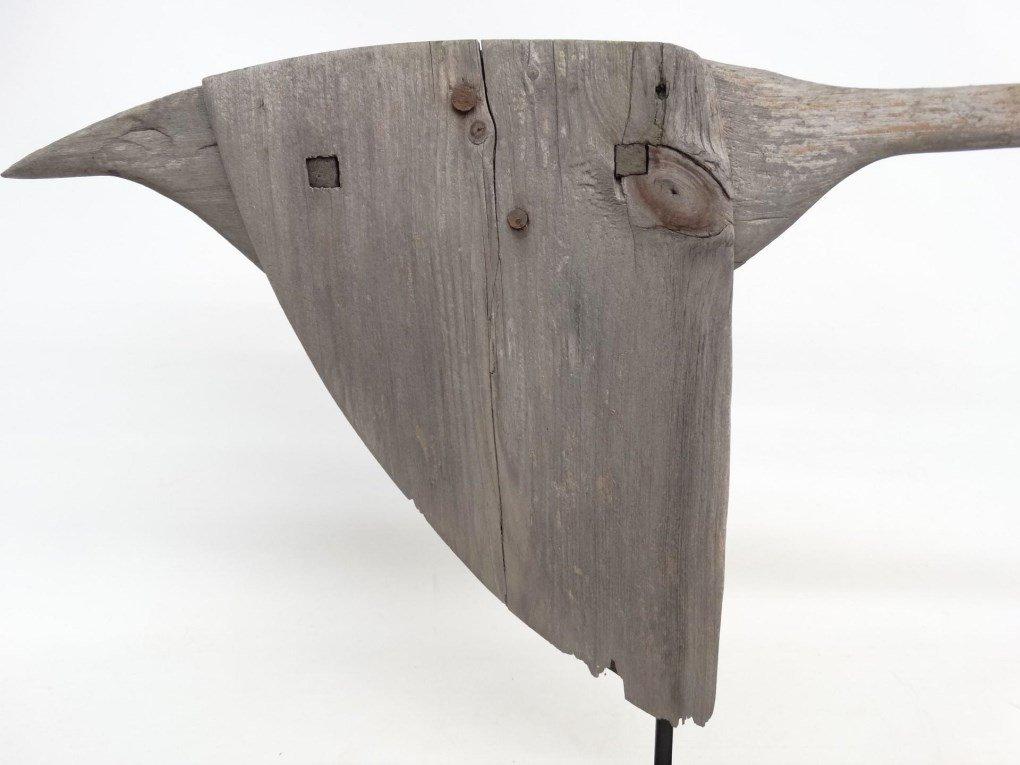 Wooden Goose Weathervane - 6