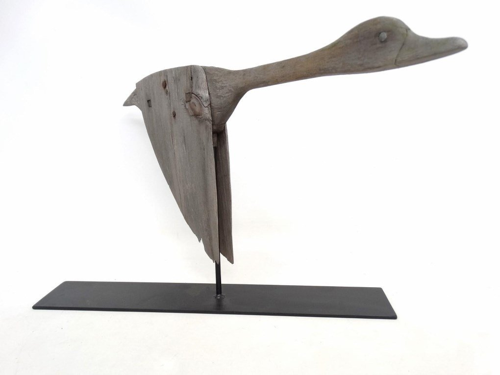 Wooden Goose Weathervane - 7