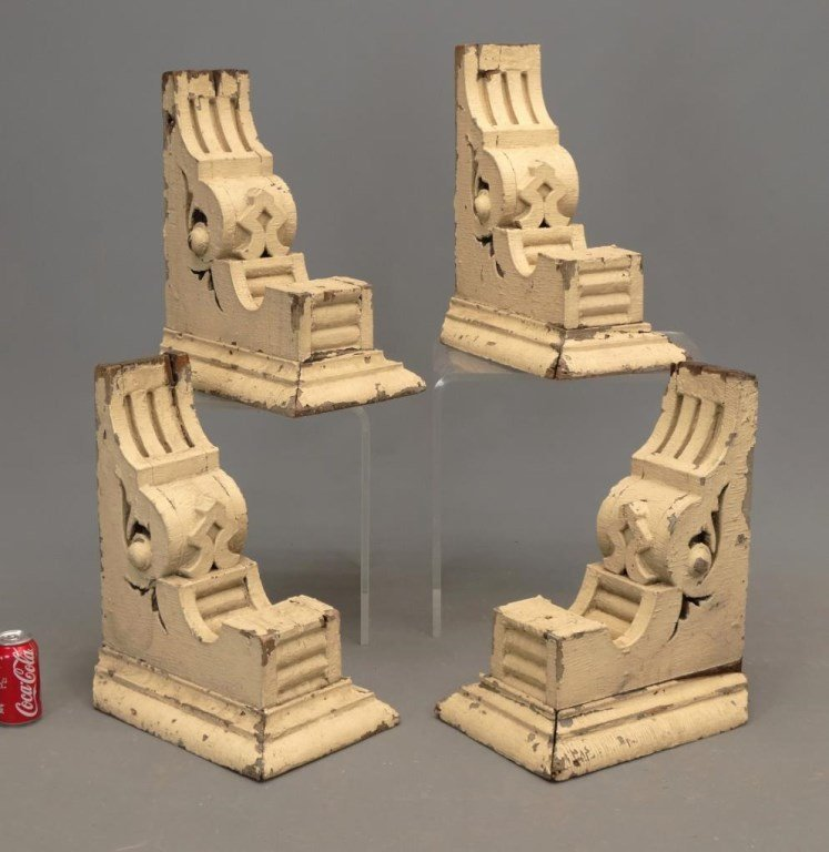 Set of Four Architectural Corbels