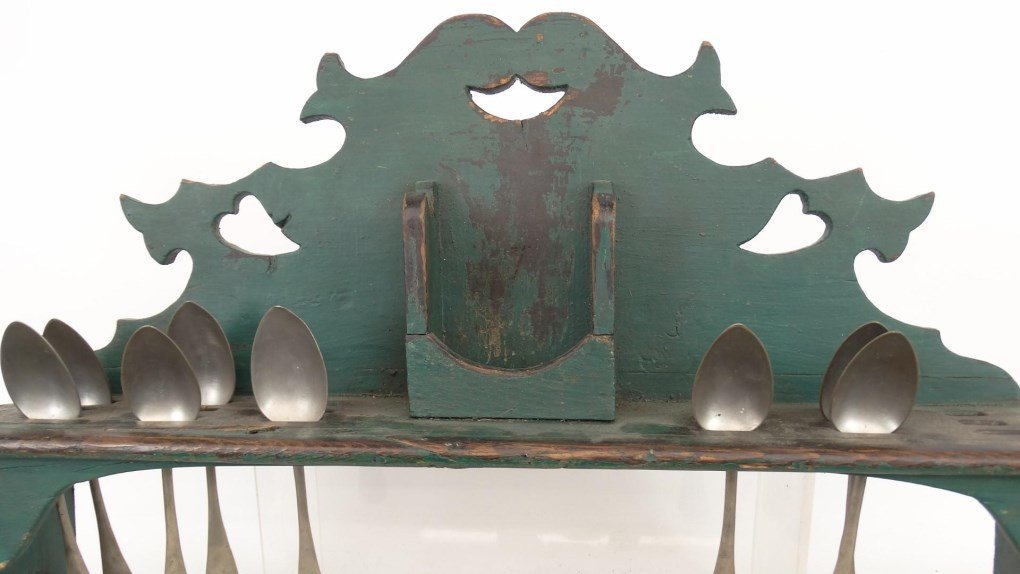 19th c. Mortar & Pestle Rack - 2