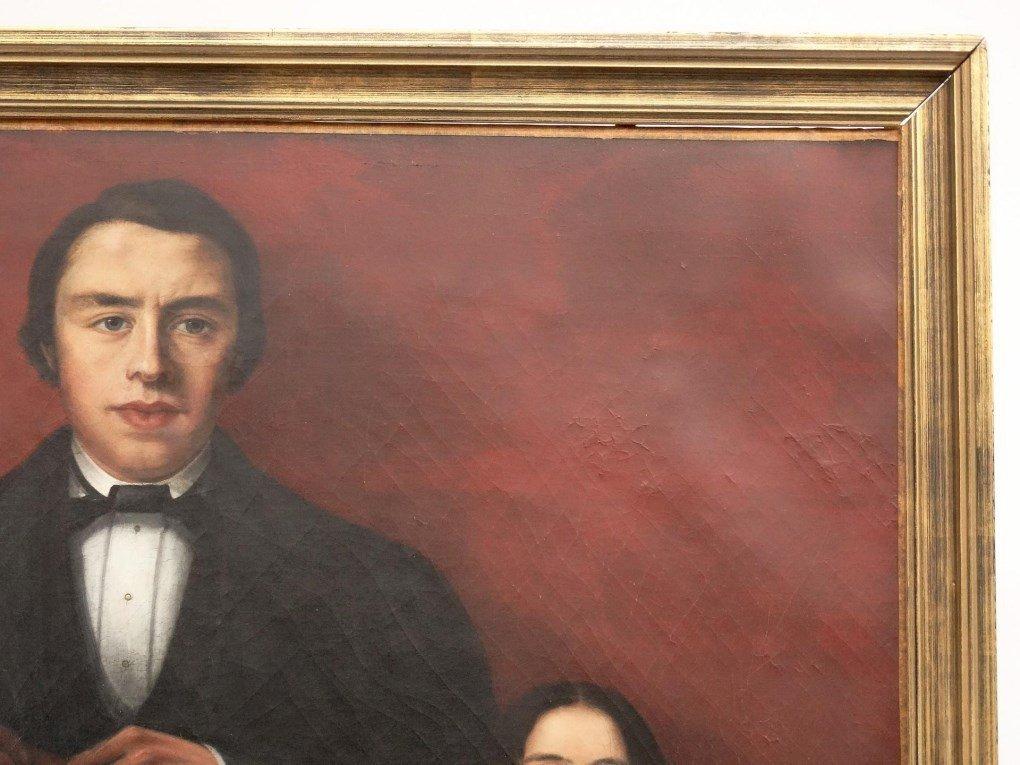19th c. Mexican Ancestral Portrait - 2