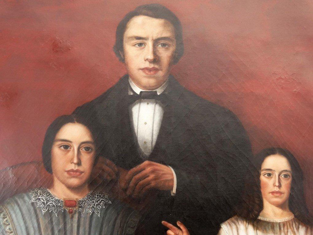 19th c. Mexican Ancestral Portrait - 3