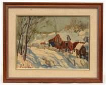 Edward Redfield (Pennsylania/Delaware (1869-1965)