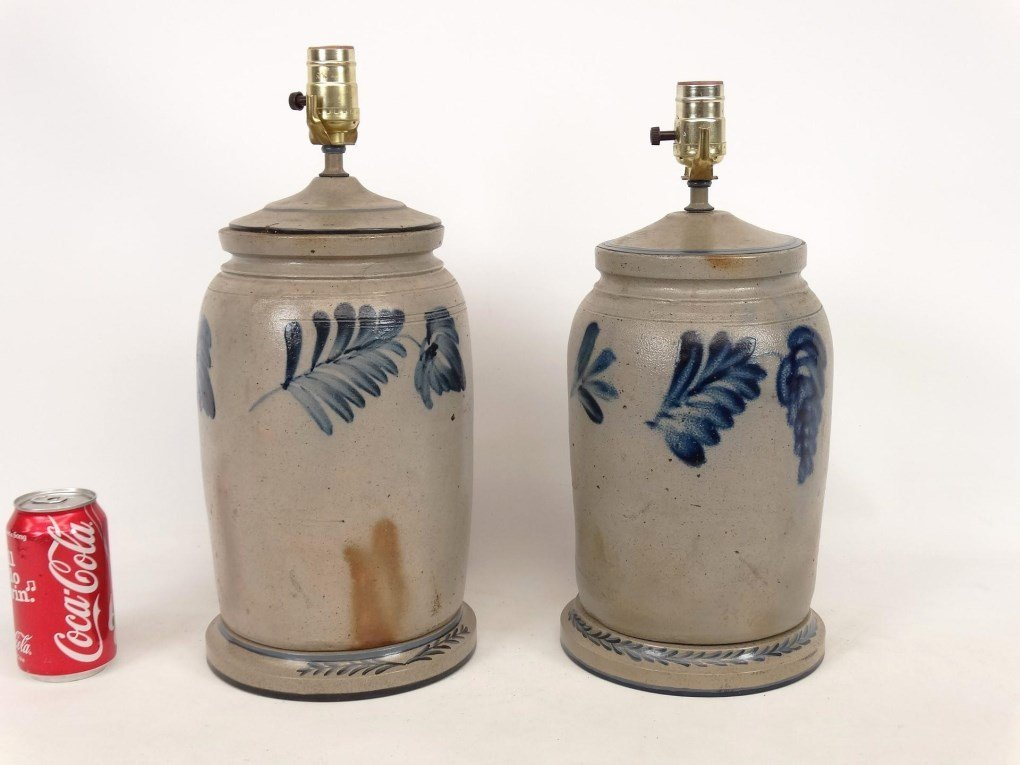 Stoneware Lamps