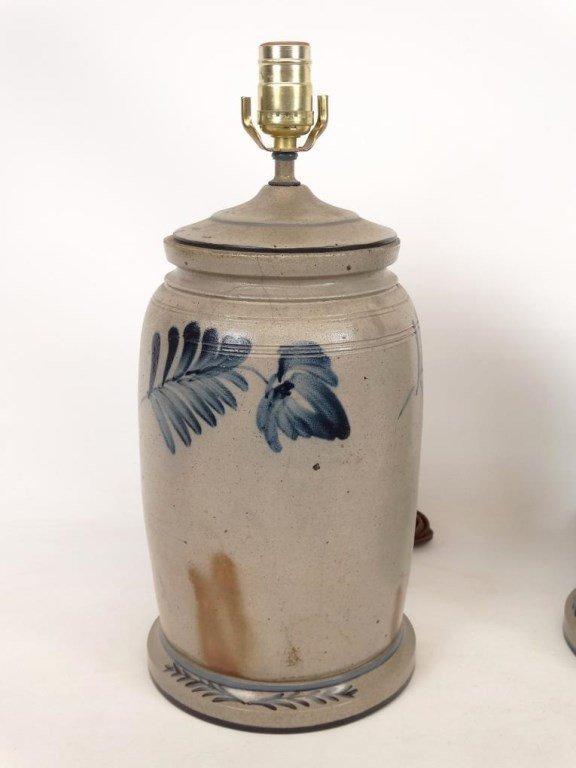 Stoneware Lamps - 2