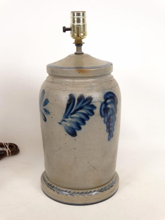 Stoneware Lamps - 3