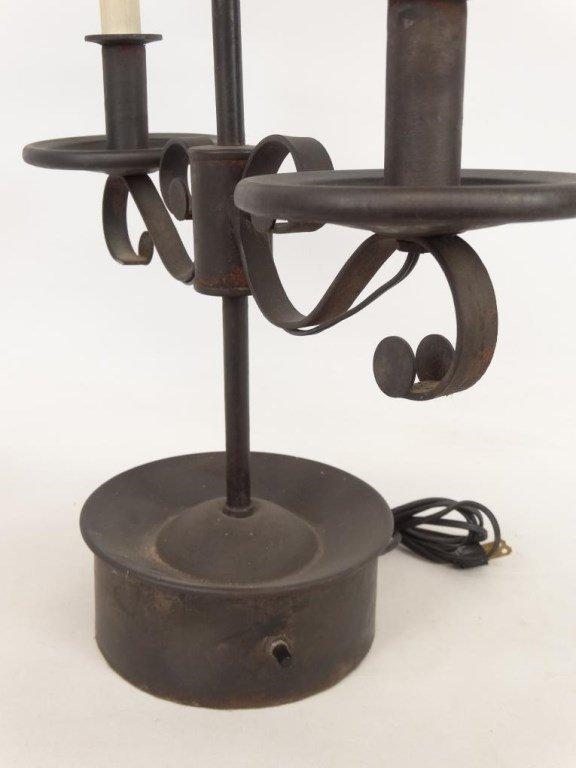 Tole Lamp - 4
