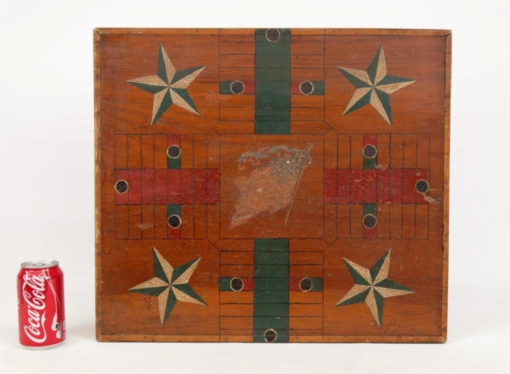 19th c. Game Board