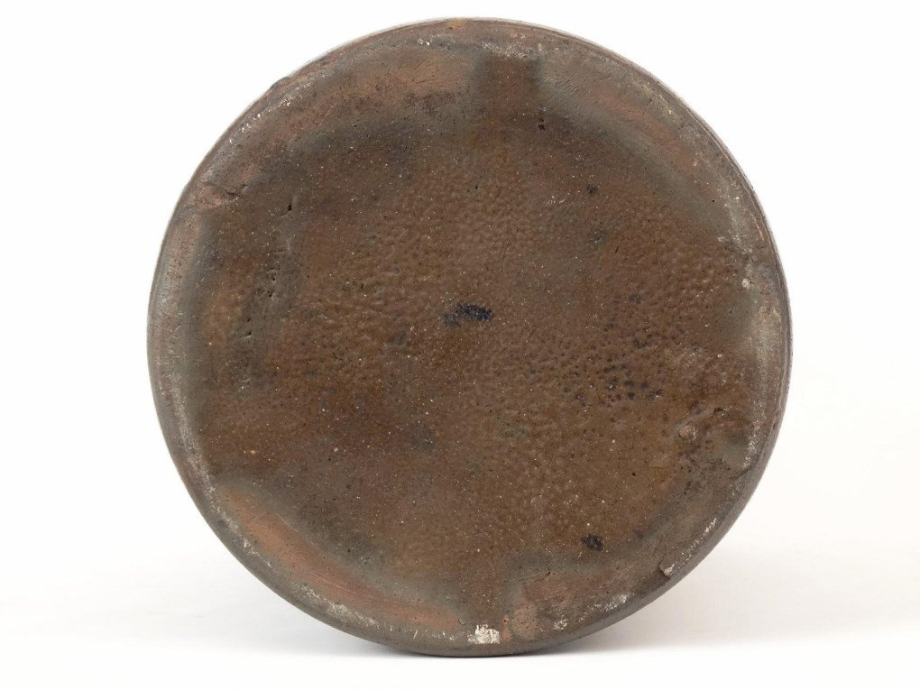 19th c. Stoneware Crock - 6