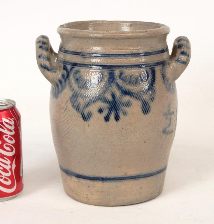 19th c. Stoneware Crock