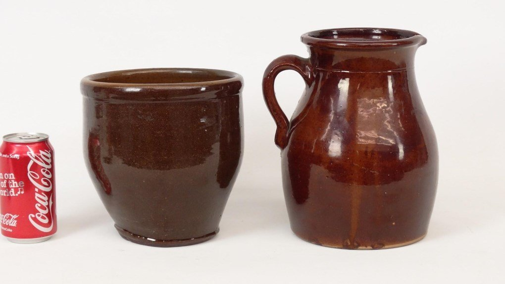 19th c. Redware Lot