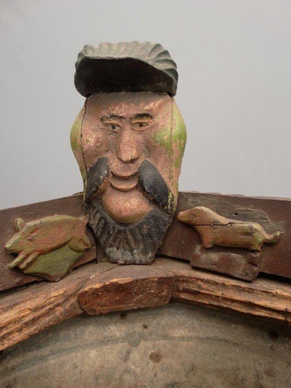 Important Folk Art Planter - 5