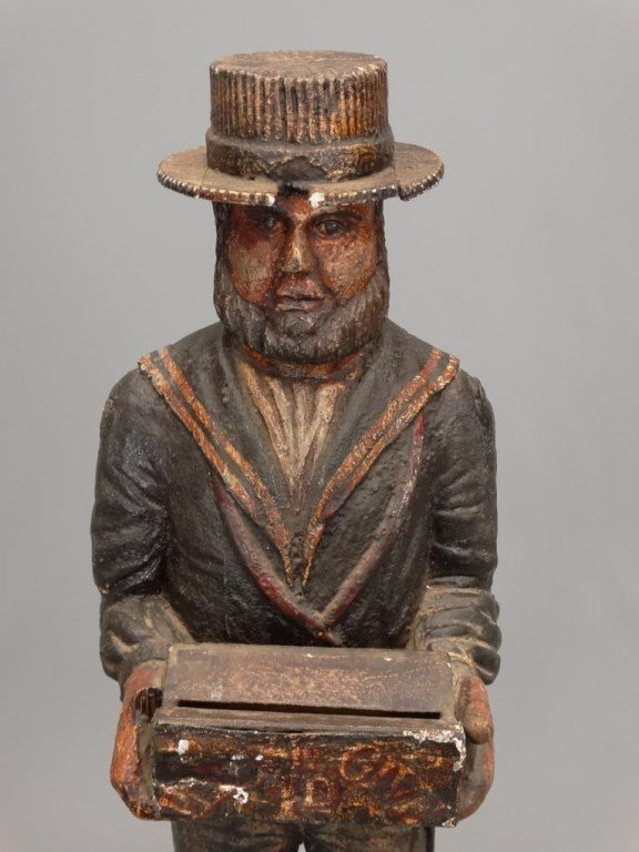 Wooden Sailor Missionary Figure - 3