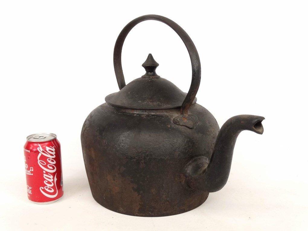 18th c. Gooseneck Teapot