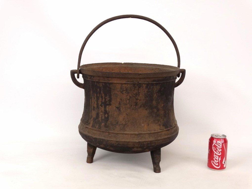 18th c. Swing Handle Pot