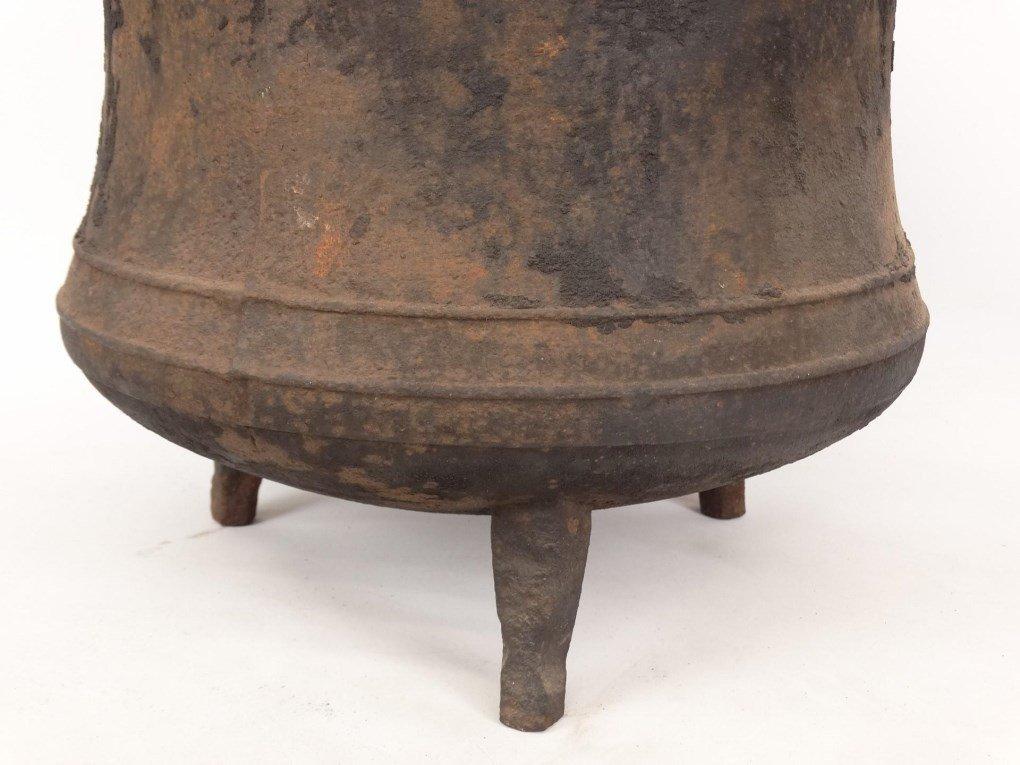 18th c. Swing Handle Pot - 4