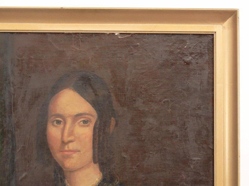 19th c. Portrait Of A Woman - 2