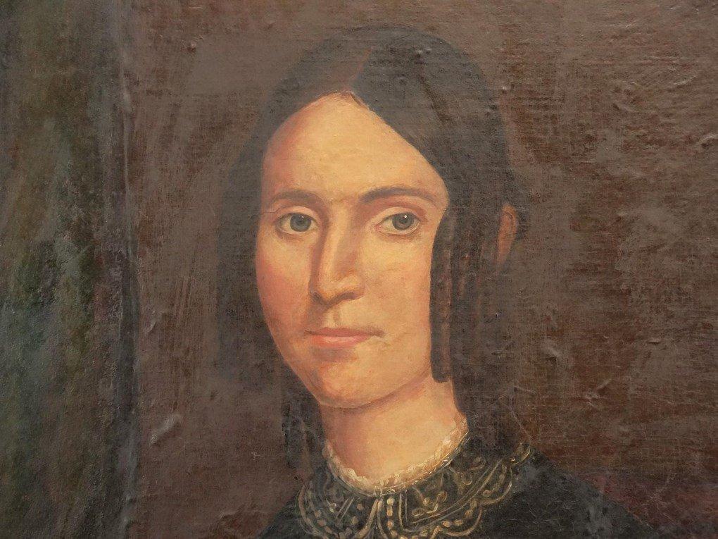 19th c. Portrait Of A Woman - 3