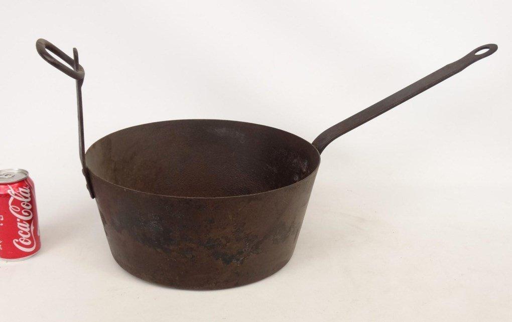 18th c. Tilting Fireplace Pot