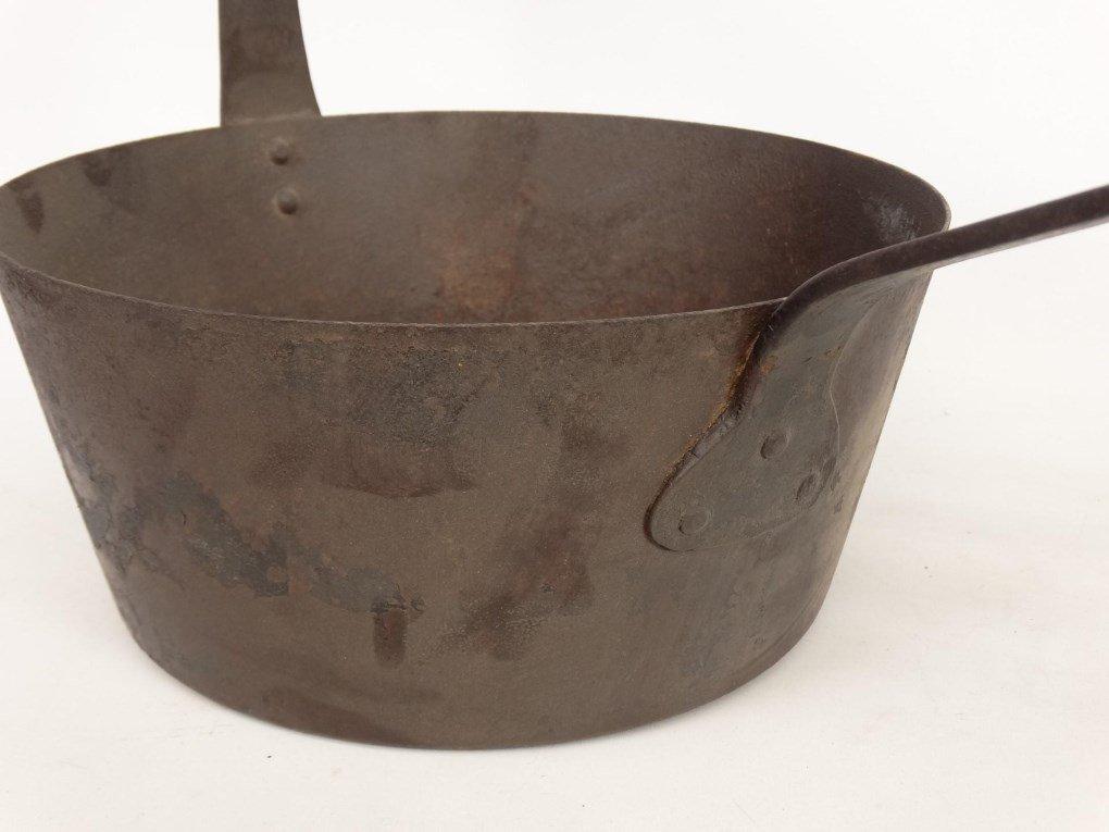 18th c. Tilting Fireplace Pot - 3