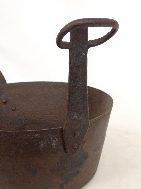 18th c. Tilting Fireplace Pot - 4