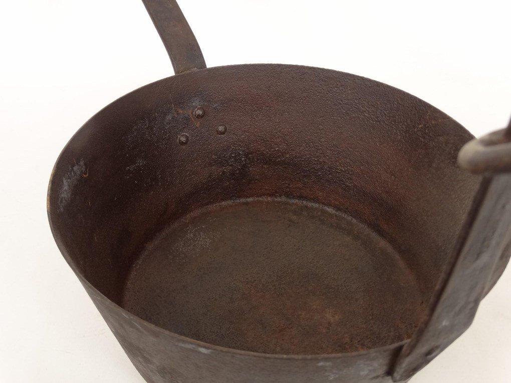 18th c. Tilting Fireplace Pot - 5