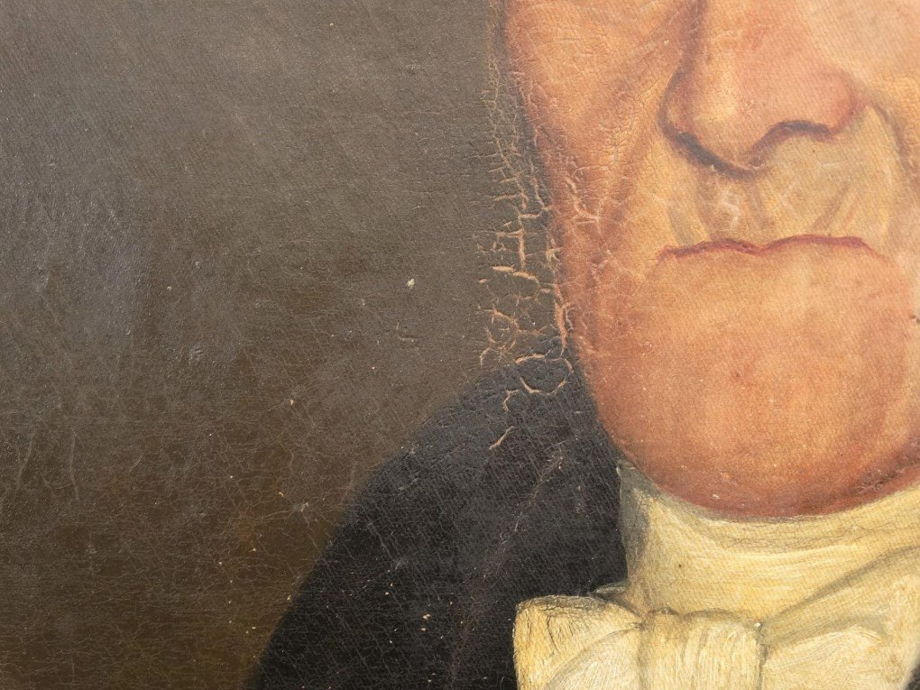 19th c. Portrait Of A Gentleman - 4