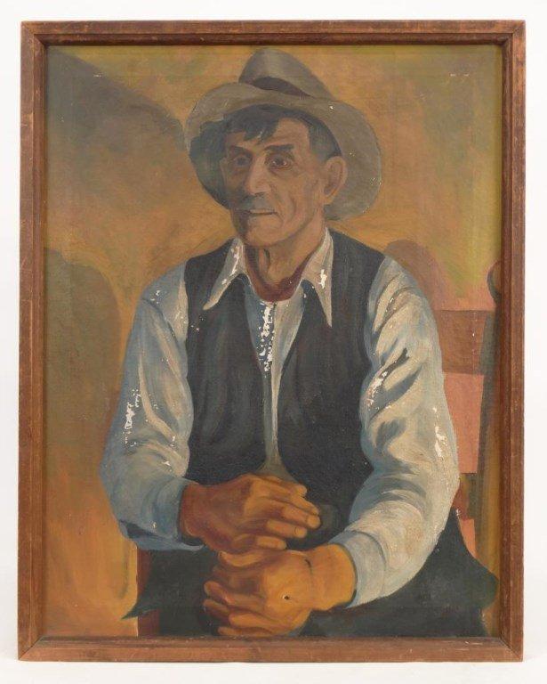 WPA Era Portrait