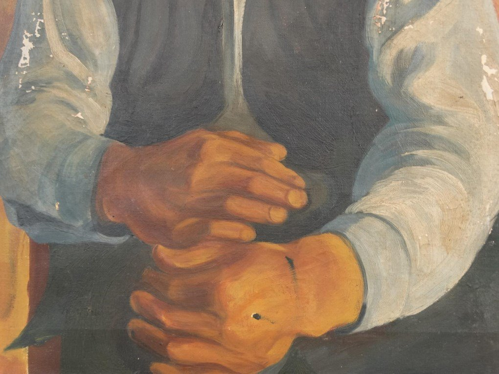 WPA Era Portrait - 4