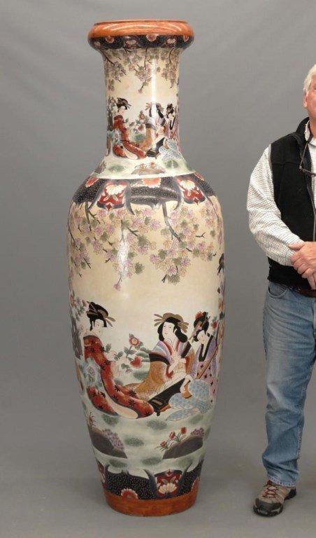 Large Chinese Vase - 2