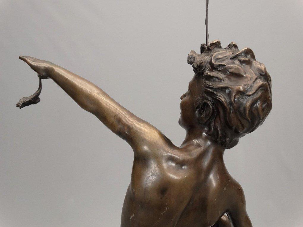 Fishing Boy Bronze - 10