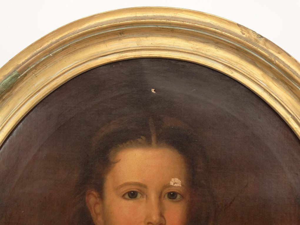 19th c. Portrait Of A Girl - 2