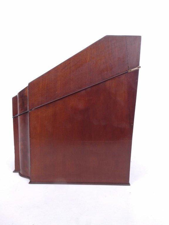 19th c. Mahogany Knife Box - 7