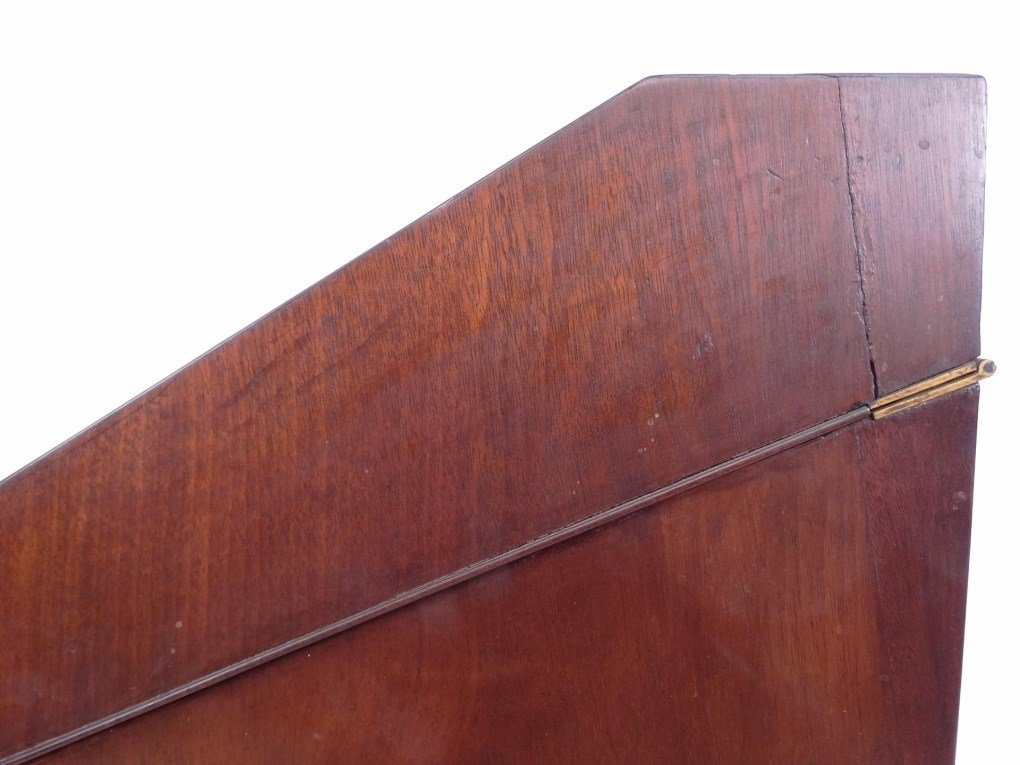 19th c. Mahogany Knife Box - 8