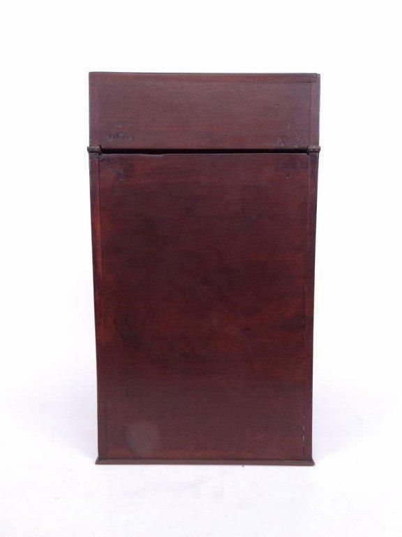 19th c. Mahogany Knife Box - 9