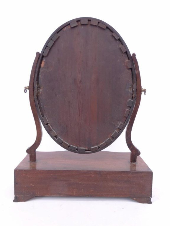 19th c. Shaving Mirror - 5