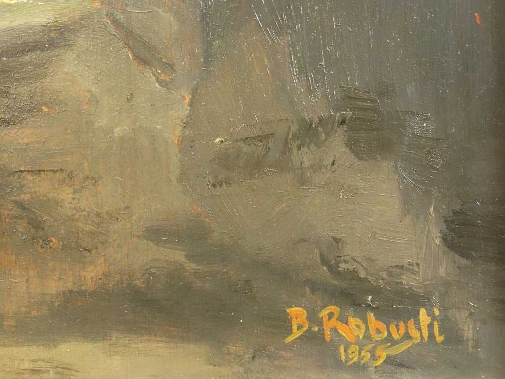 B. Robusti, Landscape With Buildings - 3