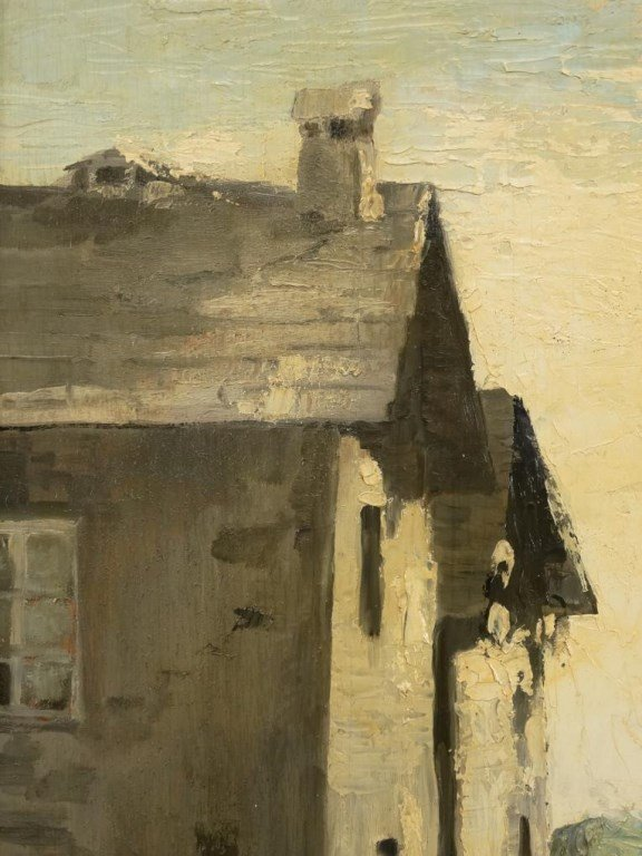 B. Robusti, Landscape With Buildings - 4