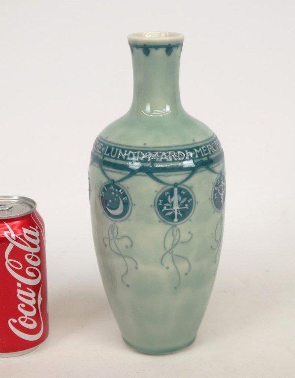 Taxile Doat, Sevres Porcelain Vase