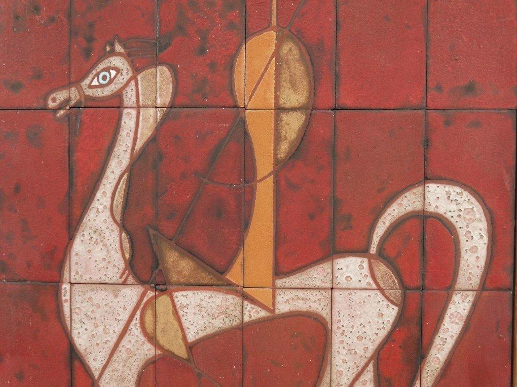 Mid Century Tile Grouping - 3