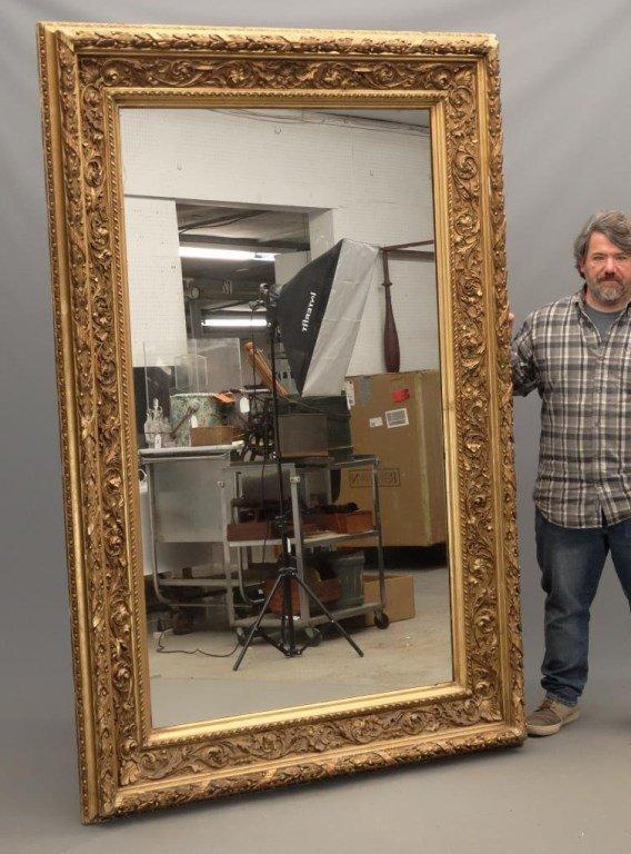 Large 19th c. Mirror